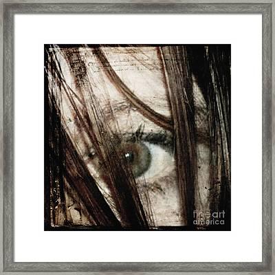 Eye-dentify Framed Print by Sharon Kalstek-Coty