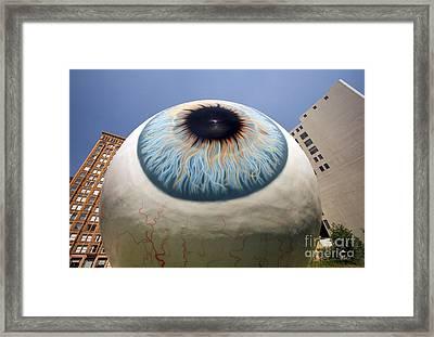 Eye Gigantus Framed Print