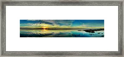 Framed Print featuring the photograph Eye In The Sky by Ed Roberts