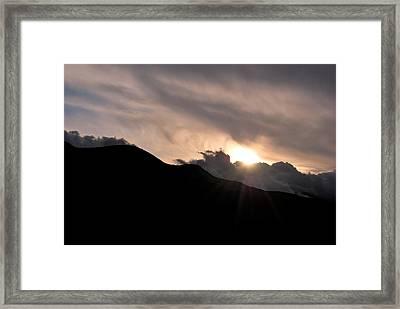 Eye In The Sky Framed Print by Matt Harang