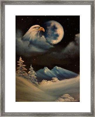Eye In The Sky Framed Print by Ricky Haug