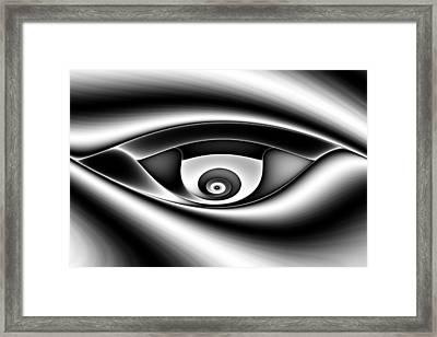 Eye Of A Stranger No. 1 Framed Print