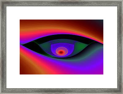Eye Of A Stranger No. 2 Framed Print by Mark Eggleston