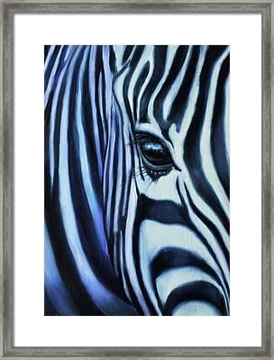 Eye Of Africa Framed Print