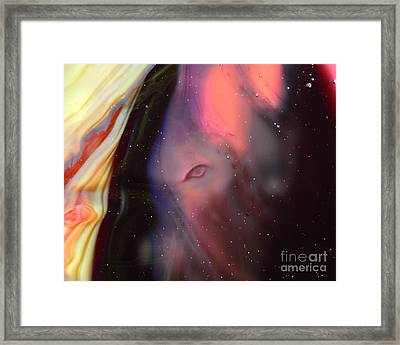 Eye Of The Beast Framed Print