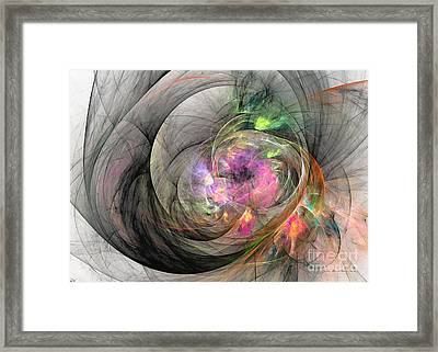 Eye Of The Beauty Framed Print by Sipo Liimatainen