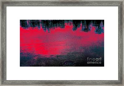 Create Reality Abstract Framed Print
