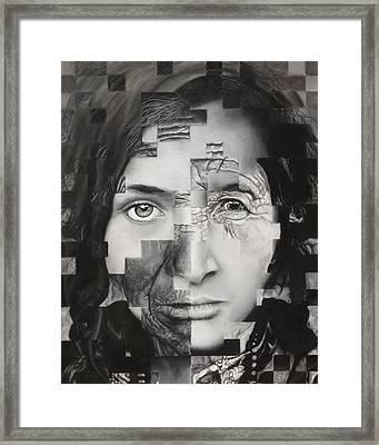 Eye Of The Beholder Framed Print by Pam Raney