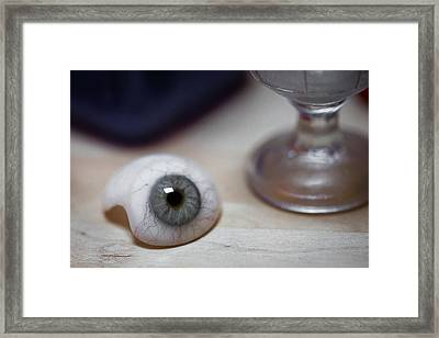 Eye Of The Beholder Framed Print by Sara Hudock