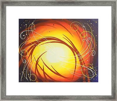 Eye Of The Hurricane Framed Print