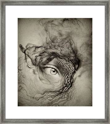 Eye Of The I Framed Print by Gun Legler