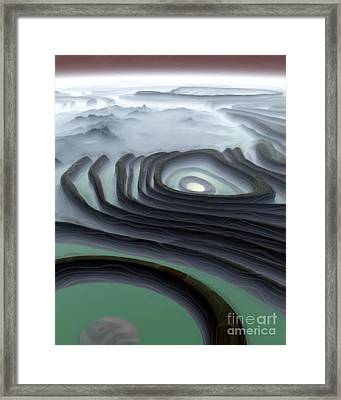 Eye Of The Minotaur Framed Print