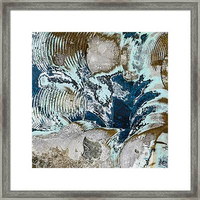Eye Of The Storm Framed Print by Carol Leigh