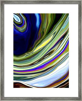 Eye Of The Storm Framed Print by Linnea Tober