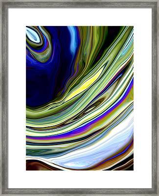 Eye Of The Storm Framed Print by Linnea Tober