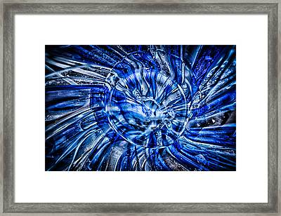 Eye Of The Storm Framed Print by Omaste Witkowski