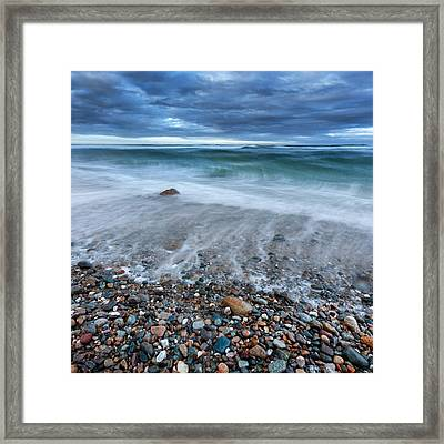 Eye Of The Storm Square Framed Print