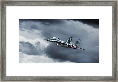 Eye Of The Tiger Framed Print by Leon