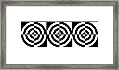Eye On Target Iv Framed Print by Mike McGlothlen