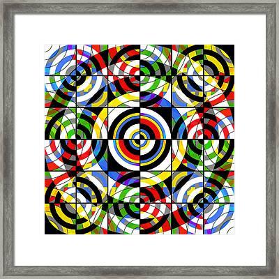 Eye On Target Framed Print by Mike McGlothlen