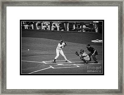 Eye On The Ball Framed Print by Bob Hislop
