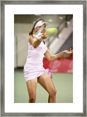 Eye On The Ball Framed Print