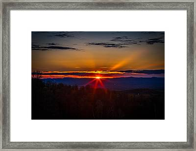 Eye On The Horizon Framed Print by Jerry Mattice