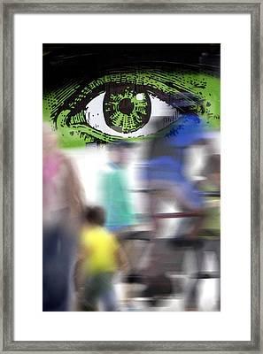 Eye Spy Framed Print by Richard Piper