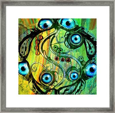 Eye Understand Framed Print