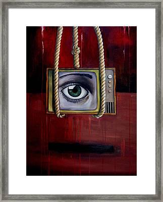 Eye Witness Framed Print by Leah Saulnier The Painting Maniac
