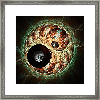 Eyeballs Framed Print