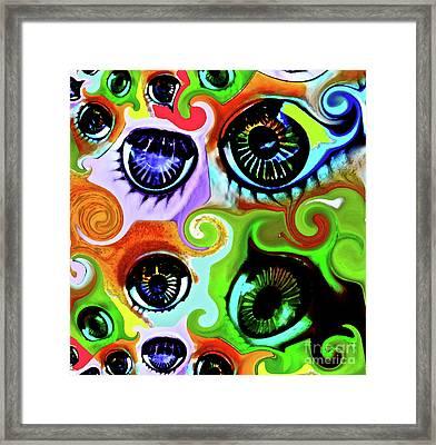 Eyecandy Framed Print by Gwyn Newcombe