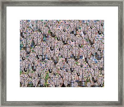 Eyedea  Framed Print by Betsy Knapp