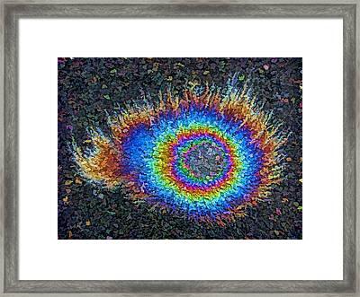 Eyelash Nebula Framed Print