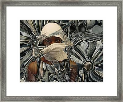 Eyes Don't Lie Framed Print by Lorenzo Williams