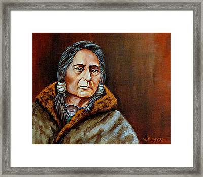 Eyes Of A Nation Framed Print by Susan Bergstrom