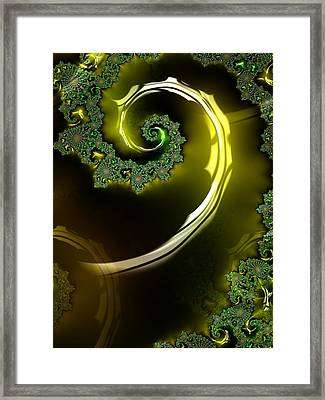 Eyes Of A Stranger Framed Print by Jeff Iverson