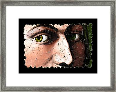Eyes Of Bindo Altoviti Framed Print