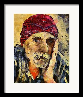 Van Gogh Style Mixed Media Framed Prints