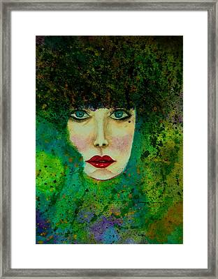 Eyes Of The Forest Framed Print