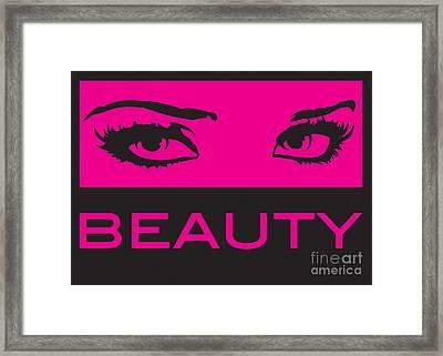 Eyes On Beauty Framed Print by Suzi Nelson