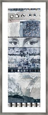Eyes On Seven Framed Print by Carol Leigh