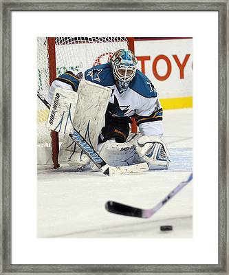 Eyes On The Prize  Antti Niemi Framed Print