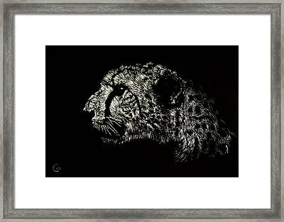 Eyes On The Prize Framed Print by Nathan Cole