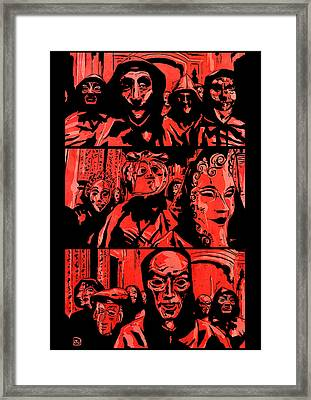 Eyes Wide Shut 2 Framed Print