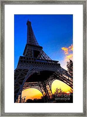 Eyesore No More Framed Print by Olivier Le Queinec