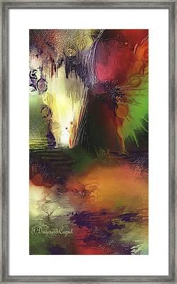Eygirunne Framed Print by Francoise Dugourd-Caput