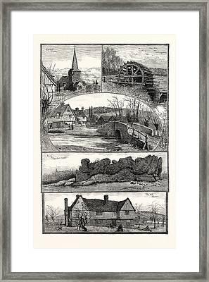 Eynsford, Kent, Uk Framed Print by English School
