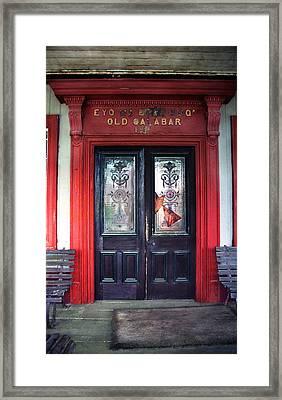 Eyo Bassey Mansion's Entrance Framed Print