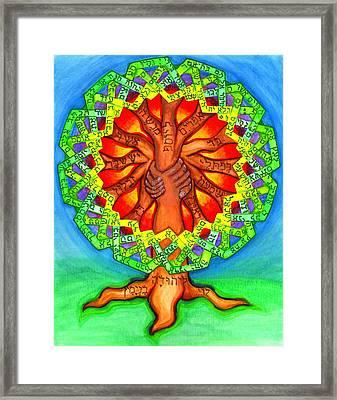 Ezekiel 37 Framed Print